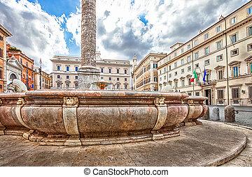 Piazza Colonna Rome