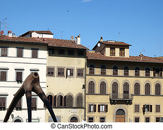 Piazza de Pitti - Florence , Tuscany, Italy