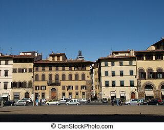 Piazza de Pitti - Florence , Tuscany, Italy