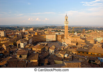 Piazza del campo. Siena - This is one of Italy's most famous...