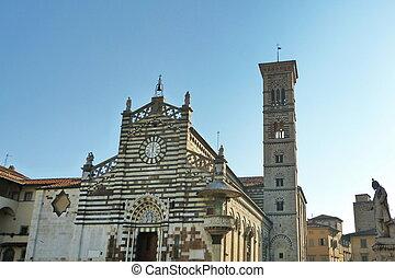 Piazza del Duomo, Prato, Tuscany, Italy