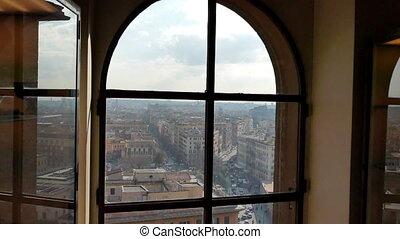 Piazza del Risorgimento. Rome, Italy