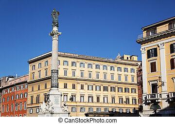 Piazza Mignanelli Rome Italy