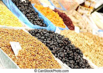 piazza, nourriture organique, naturel, endroit, bazar, ...