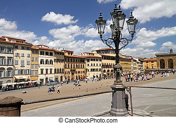 Piazza Pitti in Florence