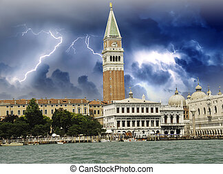 Piazza San Marco from the Sea, Venice