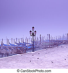 Piazza San Marco, Venice - Italy - Piazza San Marco at a...