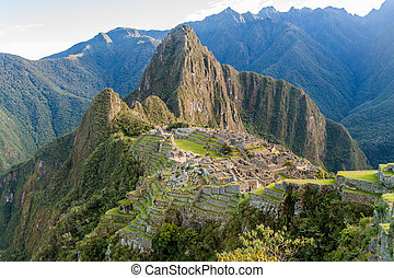 Picchu,  Machu, gruzy