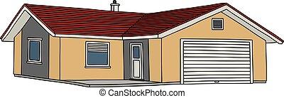 piccola casa, giallo