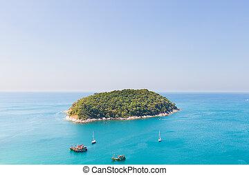 piccola isola, appresso, phuket.