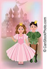 piccola principessa, principe, carino