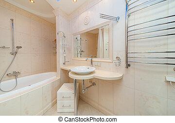 Bagno Beige Piccolo : Piccolo marrone bagno. marrone bagno moderno tegole piccolo