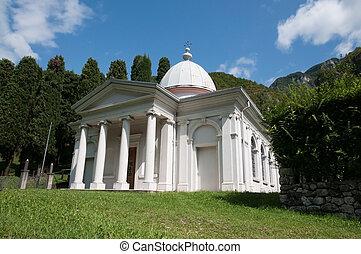 piccolo, chiesa, tipico, italiano