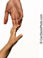 piccolo, grande mano