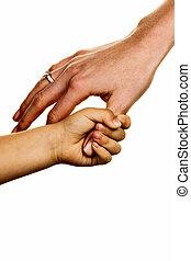 piccolo, mano grande