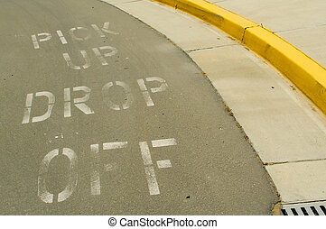 Pick Up, Drop Off Curb