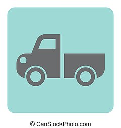 pick up icon - Pick up truck icon