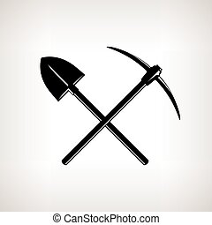 pickaxe, 鏟, 橫渡
