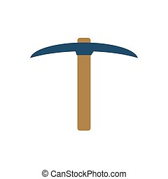 Pickaxe Vector Icon