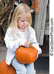 Picked A Pumpkin