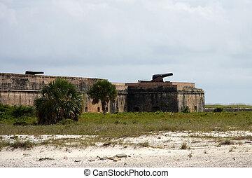pickens, 城砦
