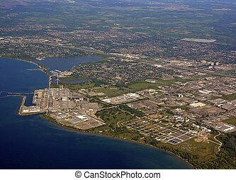 Pickering Power Plant aerial