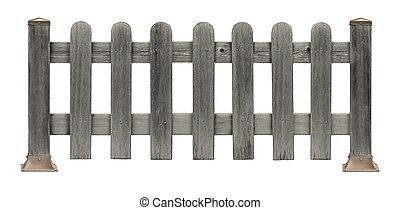 Picket Fence Grunge