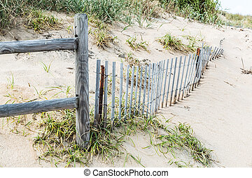 Pickett Fence and wooden Railing - Pickett Fence and wooden...