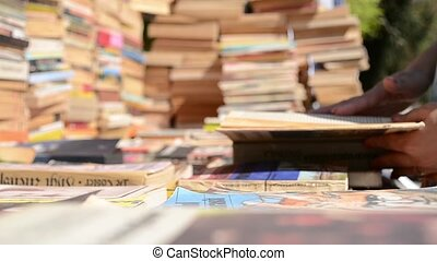 Picking an Old Book and Browse