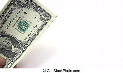 Picking Dollar Banknotes
