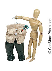Picking out Fishing Vest and Waders