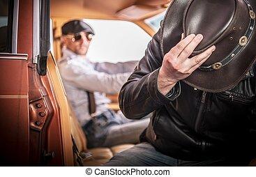 Picking Up Hitchhiker - Picking Up Strange and Drunk...