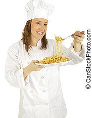 Picking Up Pasta