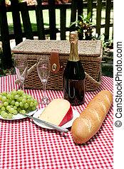 picknick, in het land