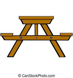 picknicken tisch