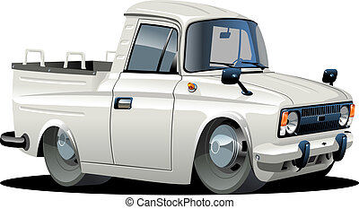 pickup, caricatura