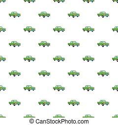Pickup pattern, cartoon style