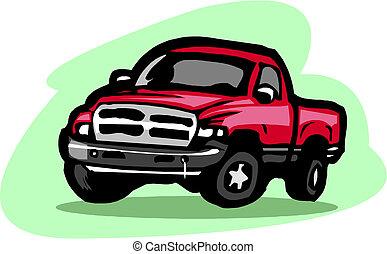 pickup samochód