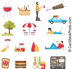 Picnic And Barbecue Set