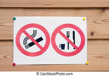 picnic and cigarette banned
