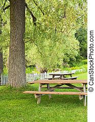 picnic area landcape