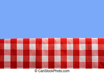 Picnic Background - A summertime or springtime picnic...