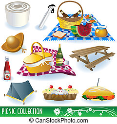 Picnic collection set