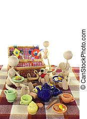 picnic, cometa