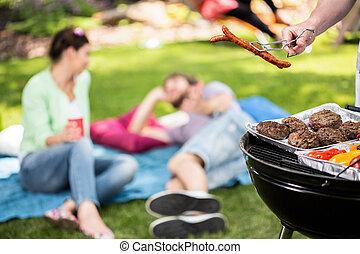 picnic, giardino