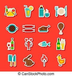 Picnic Grill Stickers