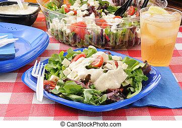 picnic, insalata