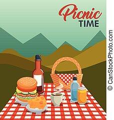 Picnic time design