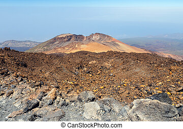Pico Viejo, El Teide National Park, Tenerife, Canary...
