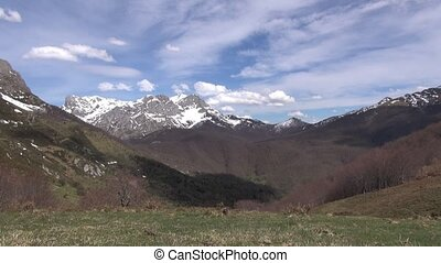 Picos Europe mountains in Leon - Picos de Europa mountains...